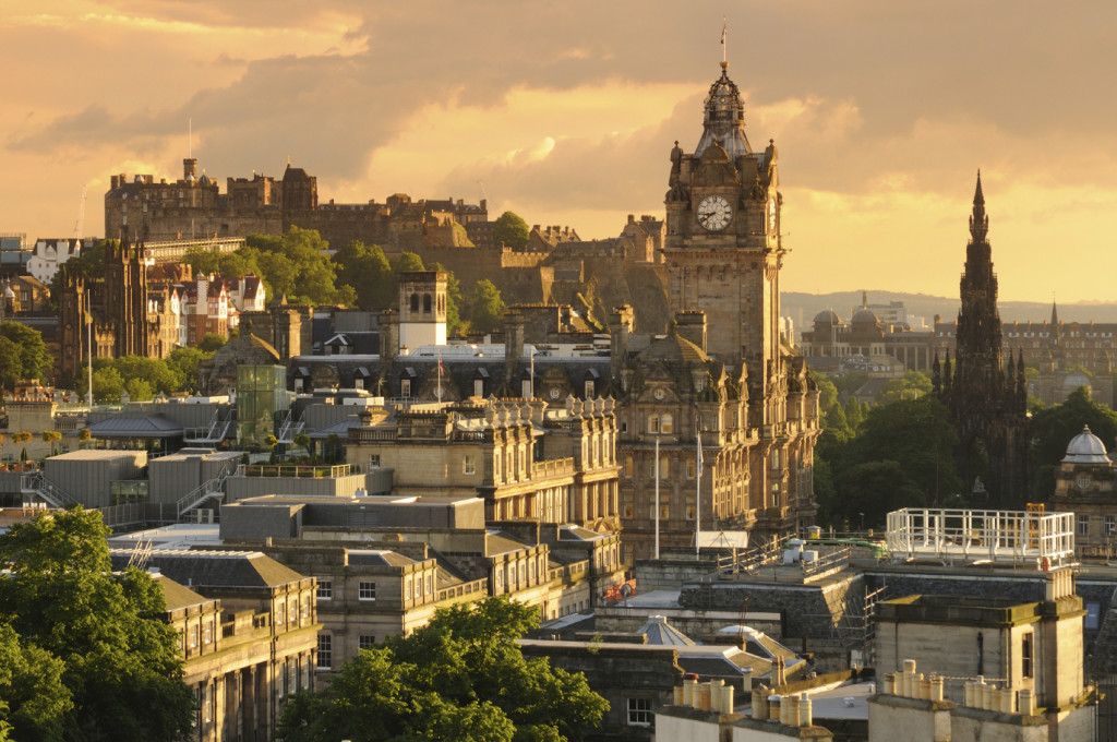 Edinburgh city photo